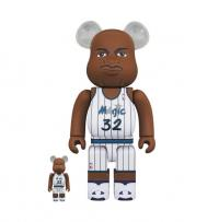 Gallery Image of Be@rbrick Shaquille O'Neal (Orlando Magic) 100% and 400% Collectible Set