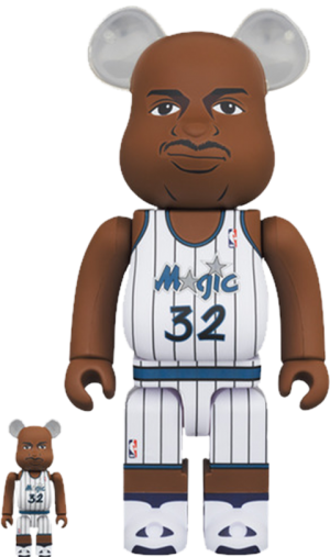 Be@rbrick Shaquille O'Neal (Orlando Magic) 100% and 400% Collectible Set