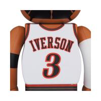 Gallery Image of Be@rbrick Allen Iverson (Philadelphia 76ers) 100% and 400% Collectible Set