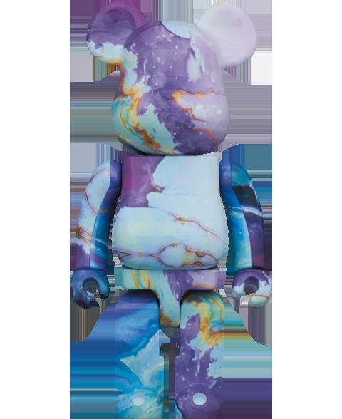 Medicom Toy Be@rbrick Marble 400% Bearbrick