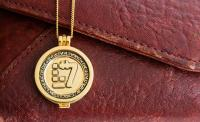 Gallery Image of New Republic Credit (Yellow Gold) Necklace Jewelry