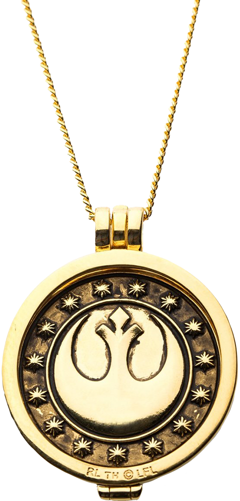 RockLove New Republic Credit (Yellow Gold) Necklace Jewelry