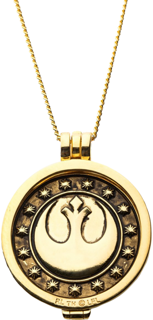 New Republic Credit (Yellow Gold) Necklace Jewelry