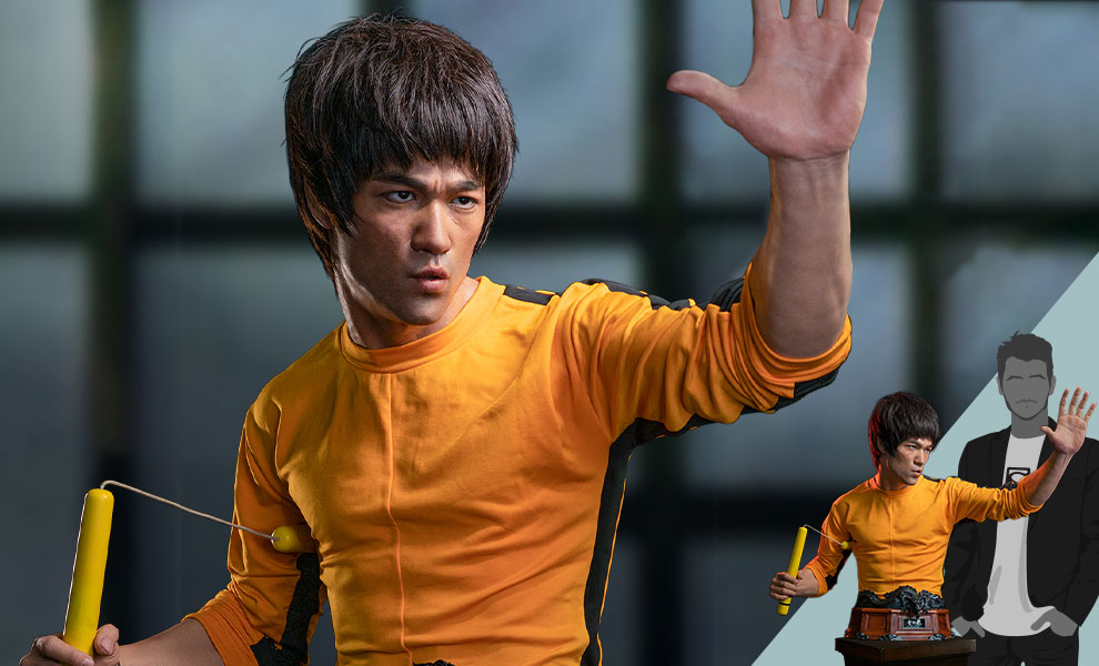 Gallery Feature Image of Bruce Lee Life-Size Bust - Click to open image gallery