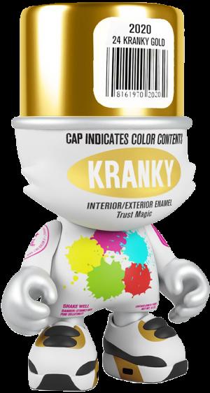 Gold SuperKranky Designer Collectible Toy