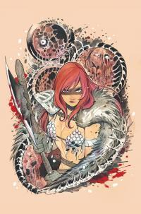 Gallery Image of Die!namite #1 Red Sonja & Vampirella (Special Virgin Peach Momoko Covers) Book