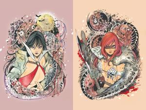 Die!namite #1 Red Sonja & Vampirella (Special Virgin Peach Momoko Covers) Book