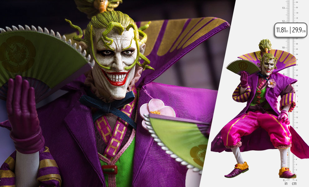 Gallery Feature Image of Lord Joker (Special Version) Sixth Scale Figure - Click to open image gallery
