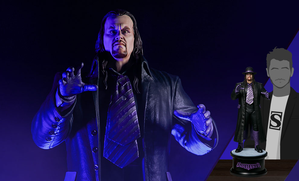 Gallery Feature Image of The Undertaker: Summer Slam '94 Statue - Click to open image gallery