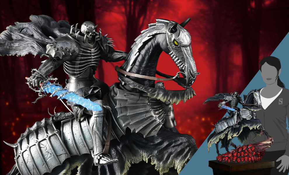 Gallery Feature Image of Skull Knight Statue - Click to open image gallery