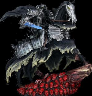 Skull Knight Statue