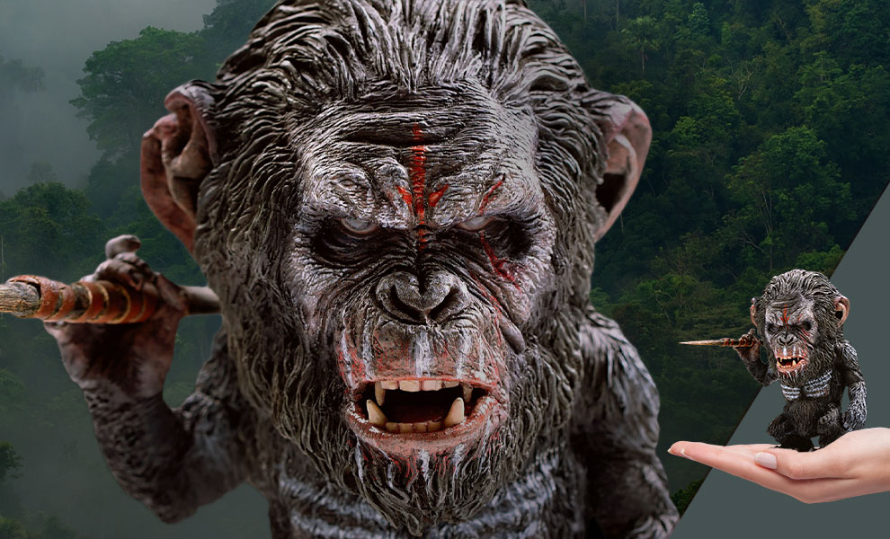 Gallery Feature Image of Koba 2.0 (Spear Version) Statue - Click to open image gallery