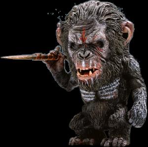 Koba 2.0 (Spear Version) Statue