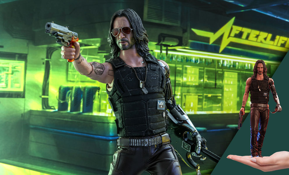 Gallery Feature Image of Johnny Silverhand Sixth Scale Figure - Click to open image gallery