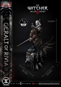 Gallery Image of Geralt of Rivia 1:3 Scale Statue