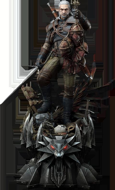 Prime 1 Studio Geralt of Rivia 1:3 Scale Statue