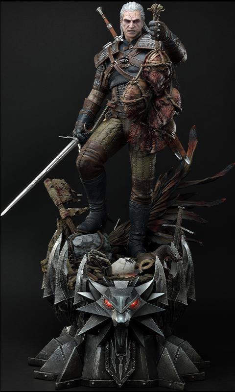 Prime 1 Studio Geralt of Rivia (Deluxe Version) Statue