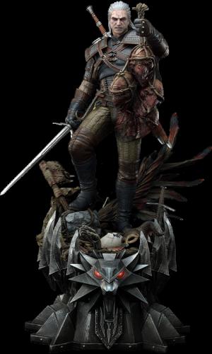 Geralt of Rivia (Deluxe Version) Statue