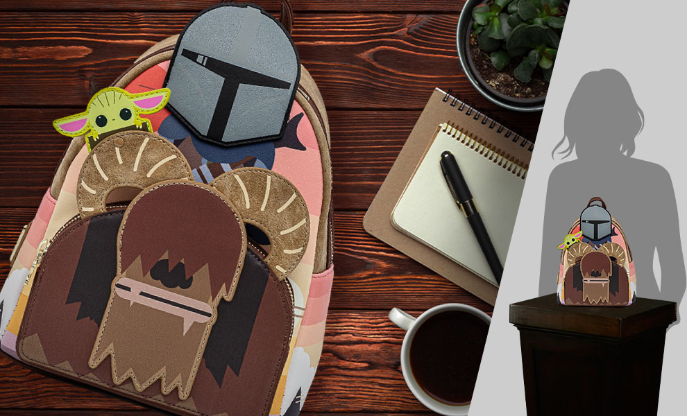 Gallery Feature Image of Mandalorian Bantha Ride Mini Backpack Apparel - Click to open image gallery