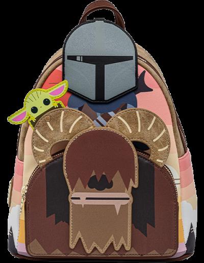 Mandalorian Bantha Ride Mini Backpack Apparel