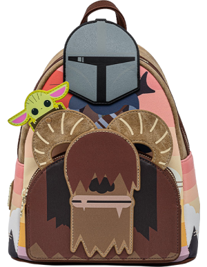 Mandalorian Bantha Ride Mini Backpack Apparel