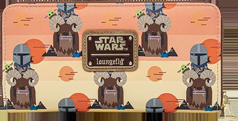 Loungefly Mandalorian Bantha Ride Wallet Apparel