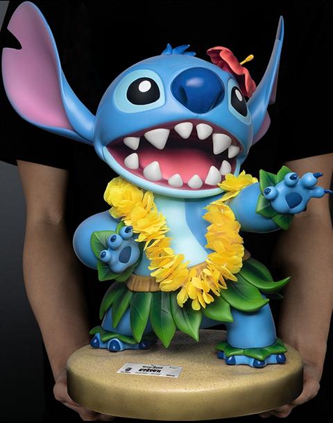 Beast Kingdom Hula Stitch Statue