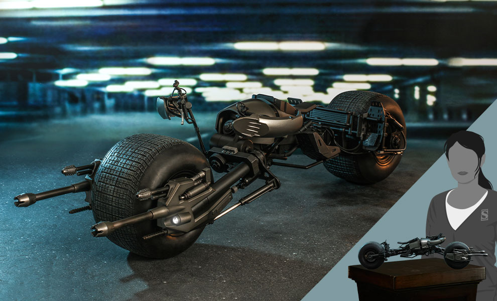 Gallery Feature Image of Bat-Pod Sixth Scale Figure Accessory - Click to open image gallery