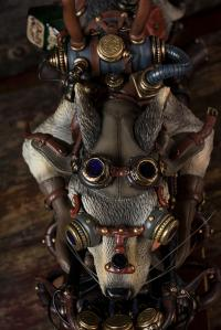 Gallery Image of Mad Wolf Statue