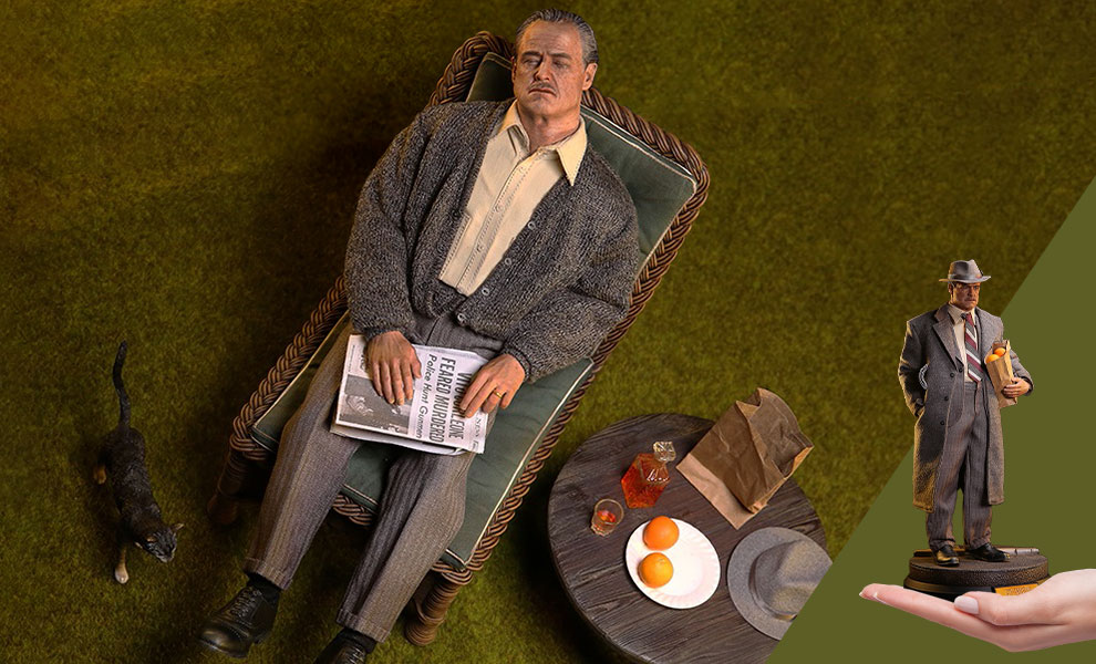 Gallery Feature Image of Vito Corleone (Golden Years Version) Sixth Scale Figure - Click to open image gallery