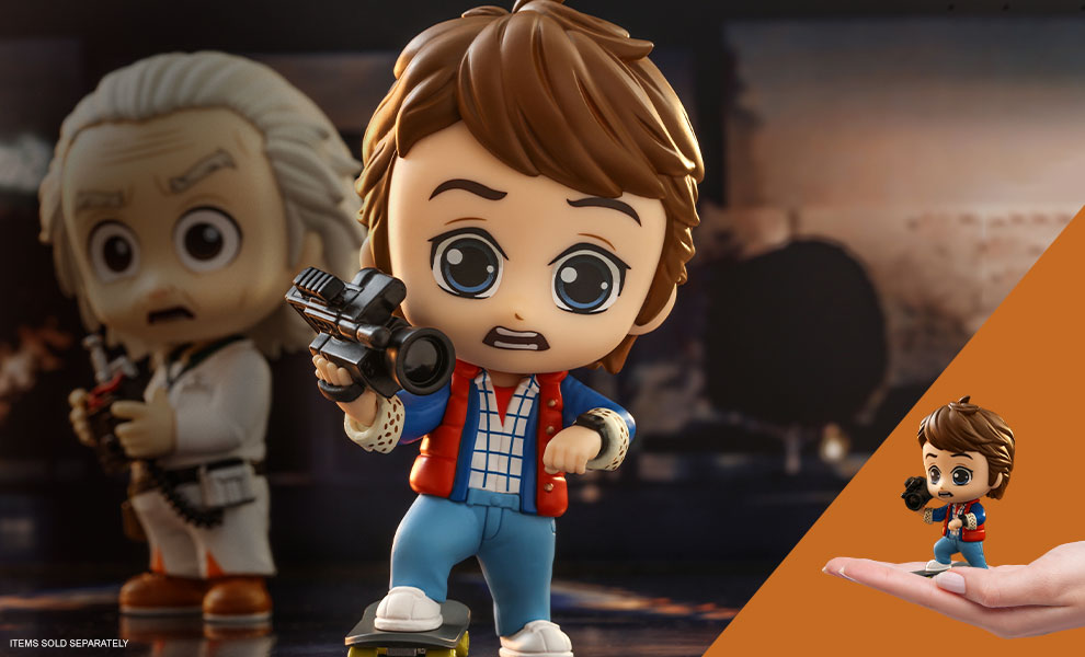 Gallery Feature Image of Marty McFly Cosbaby(S) Collectible Figure - Click to open image gallery