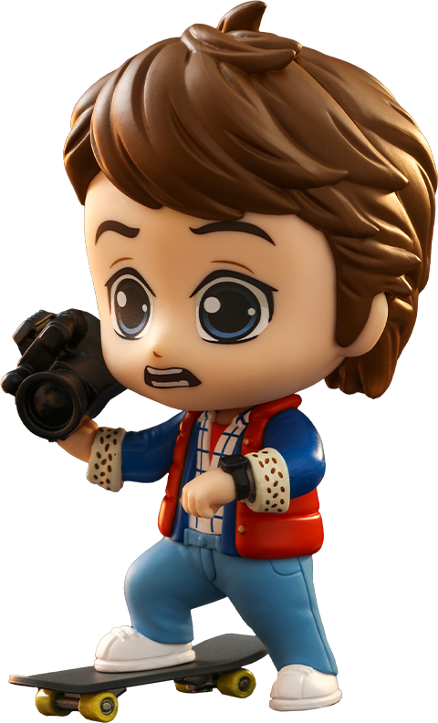 Hot Toys Marty McFly Cosbaby(S) Collectible Figure