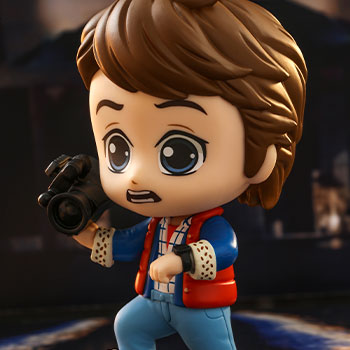 Marty McFly Cosbaby(S) Collectible Figure