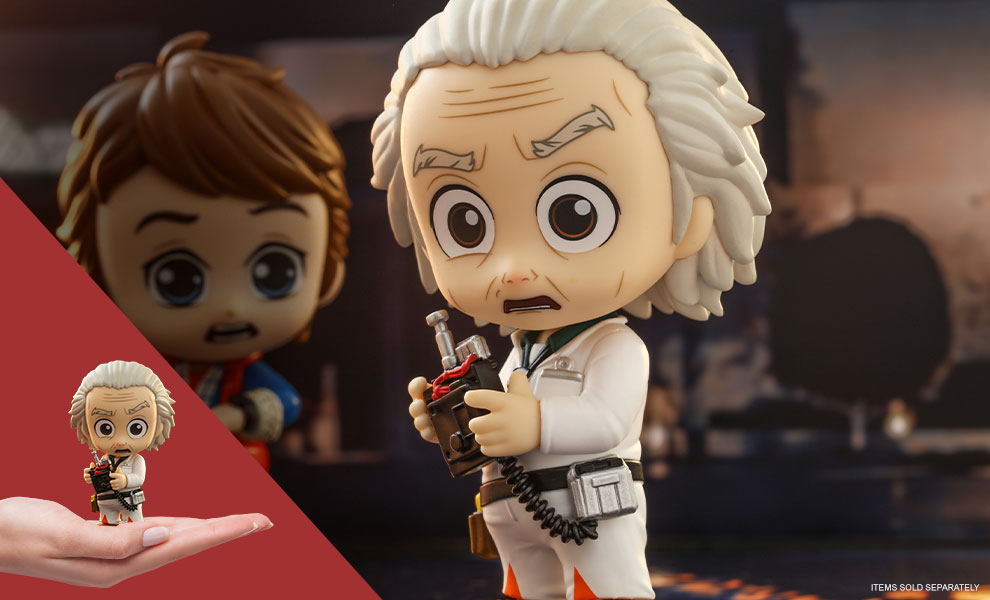 Gallery Feature Image of Doc Brown Cosbaby(S) Collectible Figure - Click to open image gallery