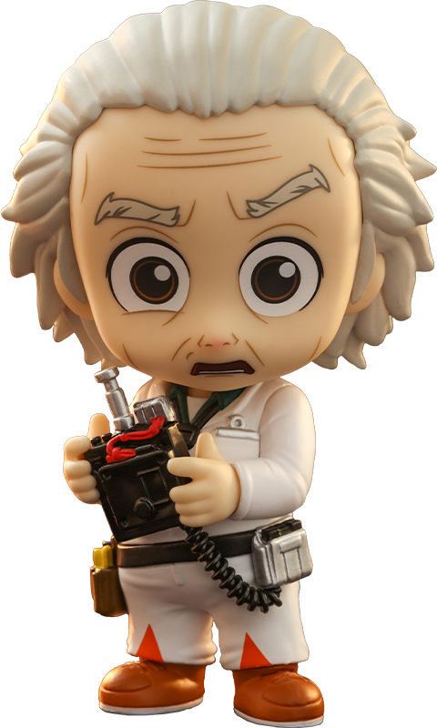 Hot Toys Doc Brown Cosbaby(S) Collectible Figure