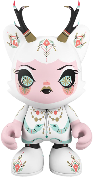 Frostbite Fauna SuperJanky Designer Collectible Toy
