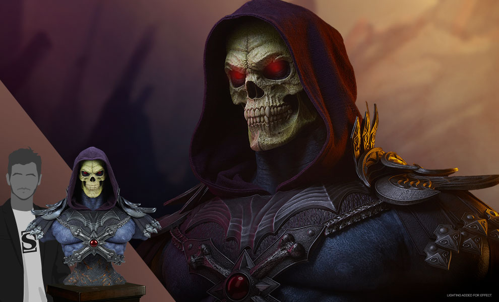 Gallery Feature Image of Skeletor Legends Life-Size Bust - Click to open image gallery