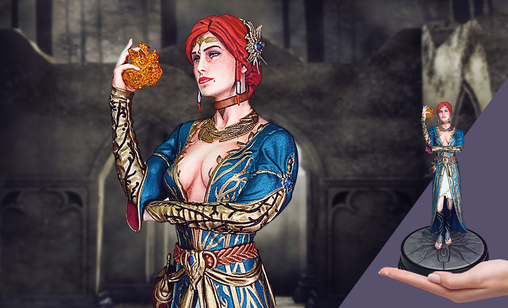 Gallery Feature Image of Triss Merigold (Series 2) Figure - Click to open image gallery
