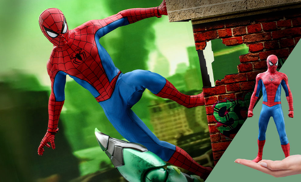 Gallery Feature Image of Spider-Man (Classic Suit) Sixth Scale Figure - Click to open image gallery