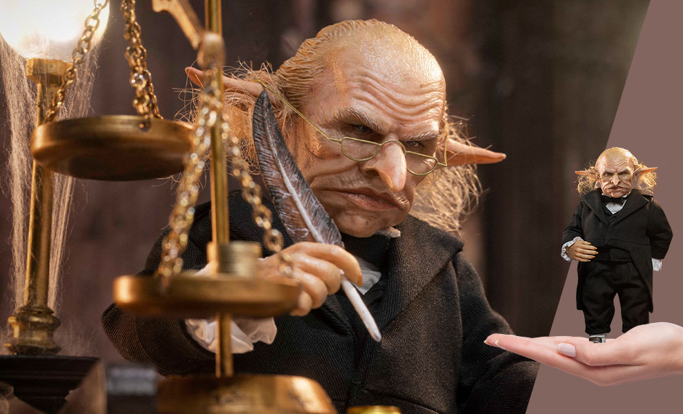 Gallery Feature Image of Gringotts Head Goblin (Deluxe Version) Sixth Scale Figure - Click to open image gallery