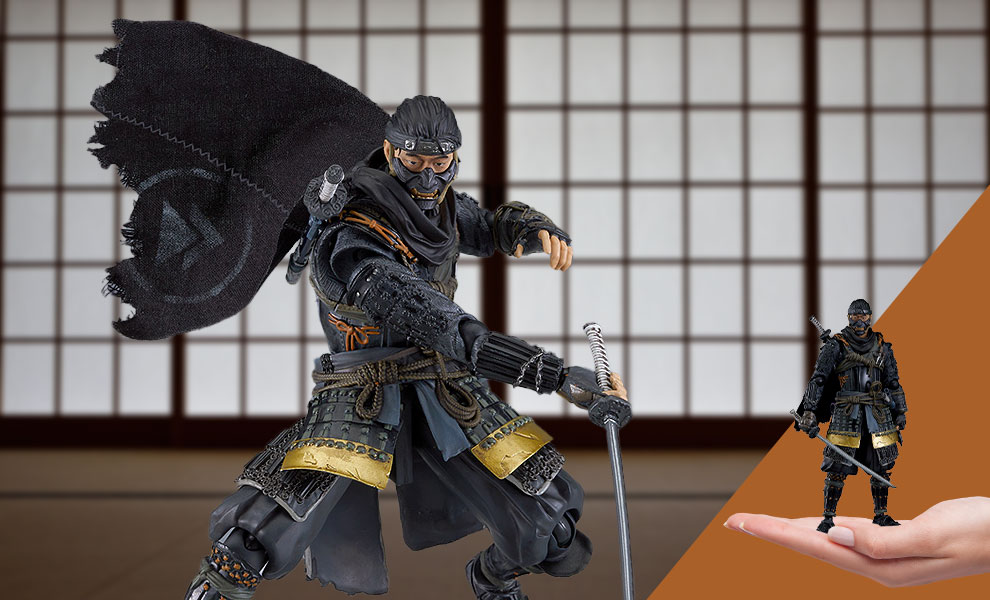 Gallery Feature Image of Jin Sakai Figma Collectible Figure - Click to open image gallery