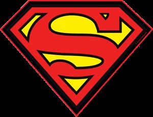 Superman LED Logo Light (Large) Wall Light
