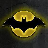 Gallery Image of Batman LED Logo Light (Regular) Wall Light