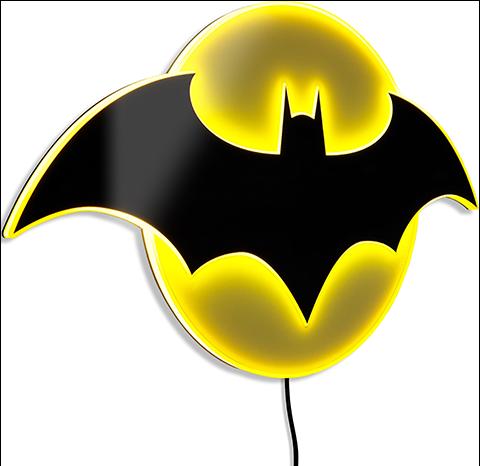 Brandlite Batman LED Logo Light (Regular) Wall Light