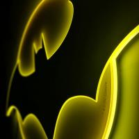 Gallery Image of Batman LED Logo Light (Large) Wall Light