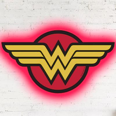 Wonder Woman Logo Light REG (Brandlite)