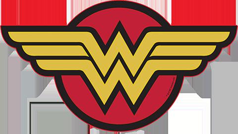 Brandlite Wonder Woman LED Logo Light (Large) Wall Light