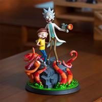Gallery Image of Rick and Morty Polystone Statue