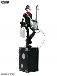 Gallery Image of Lucy Playing Bass Guitar Statue
