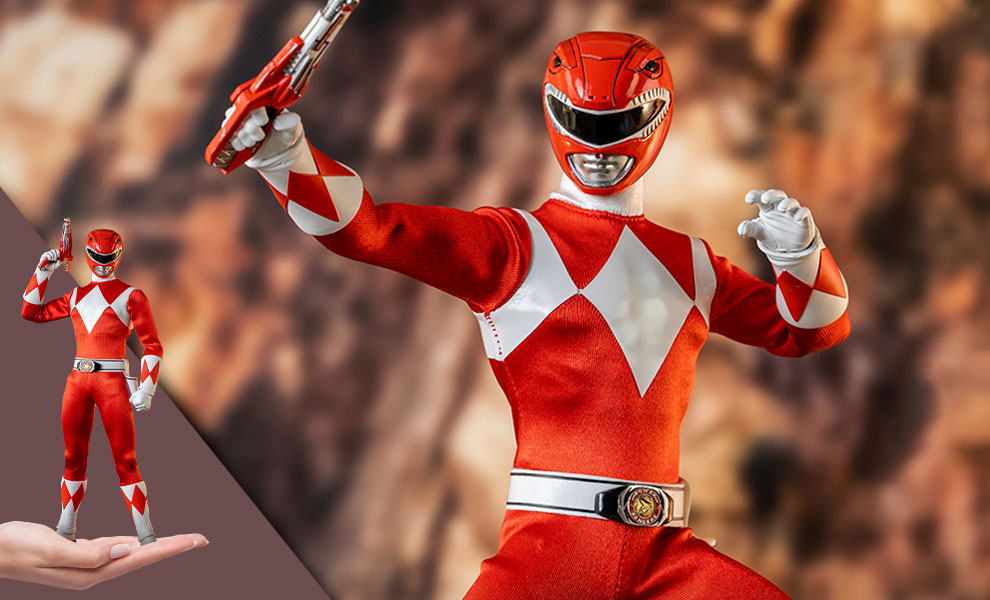 Gallery Feature Image of Red Ranger Sixth Scale Figure - Click to open image gallery